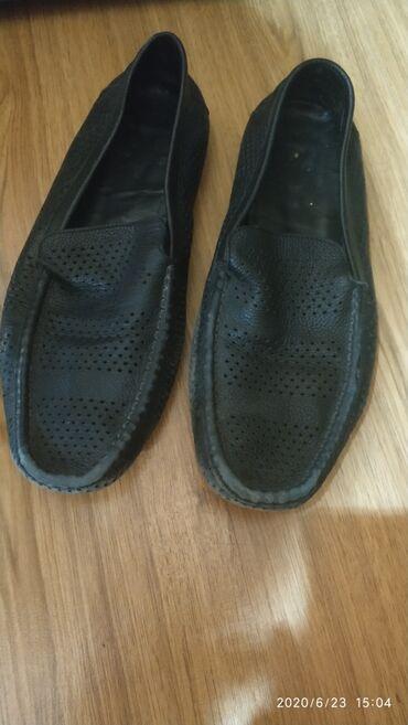 Обувь/Макасины мужские Турция, натуральная кожа. размер 44. Состояние