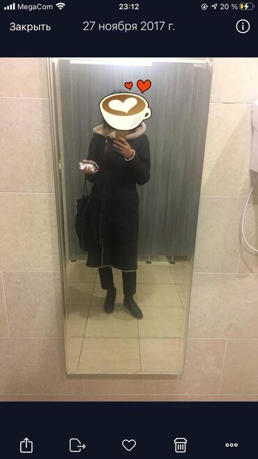 женская одежда вечерние платья в Кыргызстан: Продаётся натуральная дублёнка. Цвет коричневый. Размер S/M. Длина на
