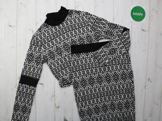 Женский вязаный комплект свитер и юбка Pink. р. S    Свитер: длина- 40