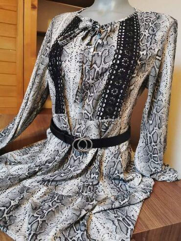 Menadzer prodaje - Srbija: Zmijasta haljinica NOVO Kaiš se prodaje posebno
