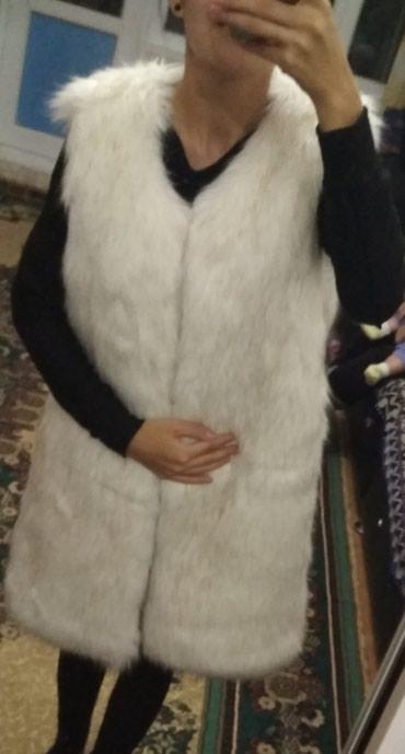 Новая Классная меховая жилетка, в Бишкек