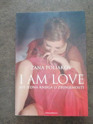 Knjige, časopisi, CD i DVD | Sjenica: Knjiga i am love zana pokiakov, bez ostecenja
