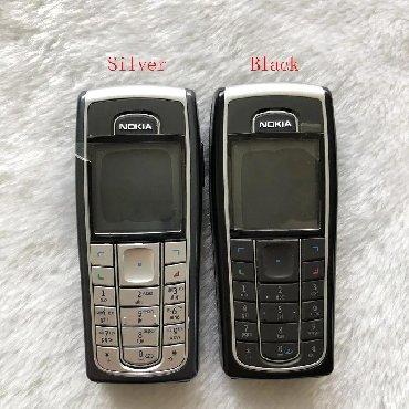 Nokia-640 - Azerbejdžan: Orijinal NOKIA 6230 telefon 2G GSM Paket içerir:1. Seçenek: pil şarj
