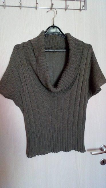 Končani prsluk ili džemper, domaće proizvodnje, sa velikom kragnom - Novi Sad