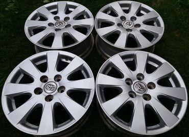 Оригинальные диски R16 TOYOTA (3).Литые диски R16 ToyotaPCD