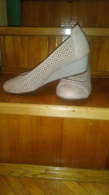 Ženska obuća | Kula: NOVE RUPICASTE BALETANKE  BOJA BEZ