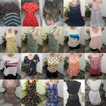 Sva odeca je nova, iz inostranstva, bavila sam se prodajom. Ali zbog