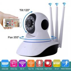 Robot IP kamera V380-Q5Y-1. 1080p Full HD 2019Model: IPC-V380-Q5Y-1