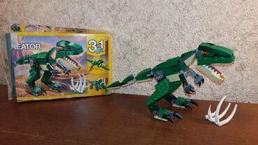 Lego kocke - Srbija: Lego 3158 Mighty dinosaurs 3in1Set je kompletan, bez uputstva. Kutija