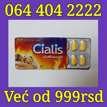 Biljni Cialis tablete za potenciju - Belgrade