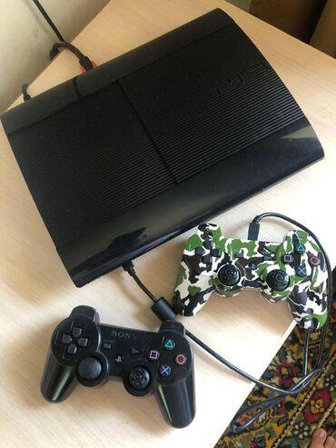 Электроника - Кант: Sony Playstation 3 120GB (прошитый) с играми, точно не могу знать слим