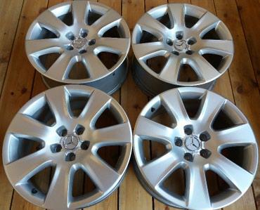 Оригинальные R18 диски RONAL (5x112) Mercedes/Audi.Диски в идеальном