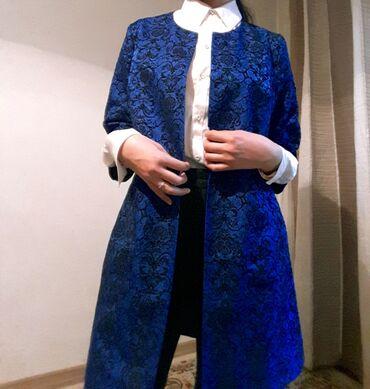 одежды в Кыргызстан: Кардиган . Цвет изумрудный . Подходит для работымероприятий и вечеро