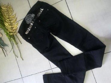 Madness Nationale divne pantalone Super model i kvalitet VEL S M