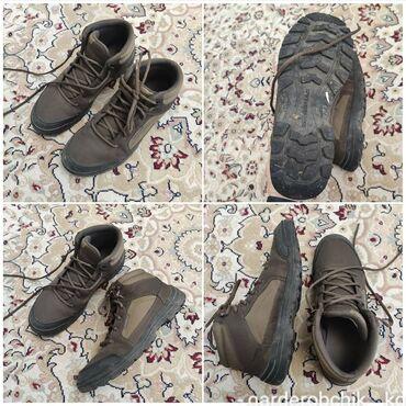 Мужская обувь - Кыргызстан: ️Продаю мужские ботинки отличного качества ️Покупали в Европе  ️Носили