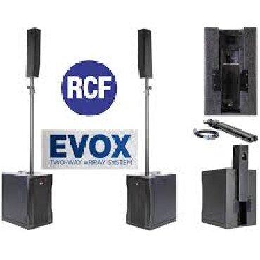 акустические системы qitech в Кыргызстан: RCF Италия-Только лучшая акустика!!!RCF EVOX 8 КОМПЛЕКТ