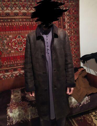 Личные вещи - Кызыл-Туу: Дубленка оригинал, натуральный мех размер s при росте 1.80 среднего т