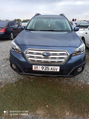Subaru - Кыргызстан: Subaru Outback 2.5 л. 2015