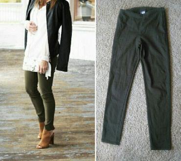 Maslinaste zelene dzeparice - Srbija: Divided by H i M maslinaste pantalone Maslinasto zelene pantalone
