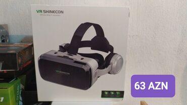 Video oyunlar üçün aksesuarlar - Azərbaycan: VR BOX virtual gerçəklik gözlüyüİndi oyun oynamaq və video izləmək