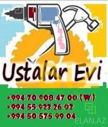 Bakı şəhərində Usta Çağrı Mərkəzi.  Xidmət. Salam Həır vaxtınız xeyir ! Sizə