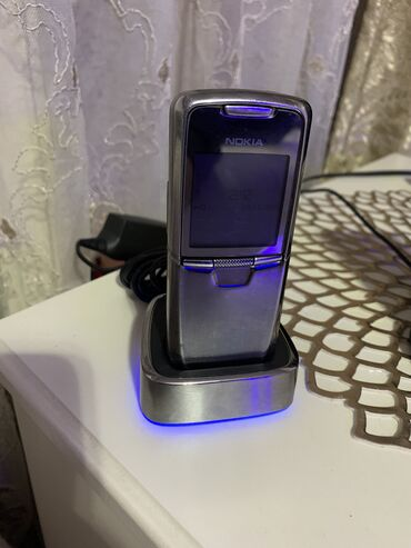 джойстики sound gun в Кыргызстан: Nokia 8800 sirocco Metal Gun Edtition. Комплект: тел, стакан, зарядка