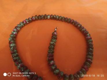 бусы и браслет в Кыргызстан: Браслет и бусы из циозита натуральный камень: приносящий счастья и