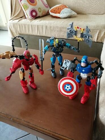 Lego - Ελλαδα: Lego. Captain American, Iron man