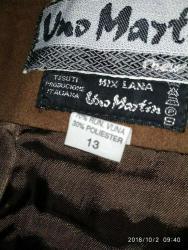 Aston-martin-db9-5-9-mt - Srbija: Suknja UNO MARTIN, br.36-38 maxi deblji stof, zimskaboja cokolade