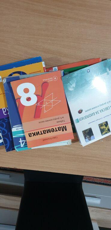 Knjige, časopisi, CD i DVD | Batajnica: Ocuvane knjige i radne sveske za osmi razred osnovne skole