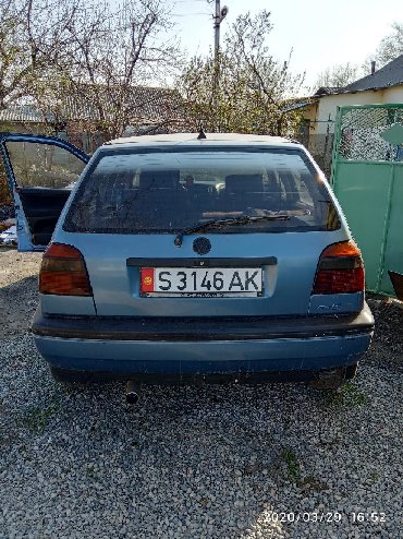 volkswagen golf 2 в Кыргызстан: Volkswagen Golf 1992