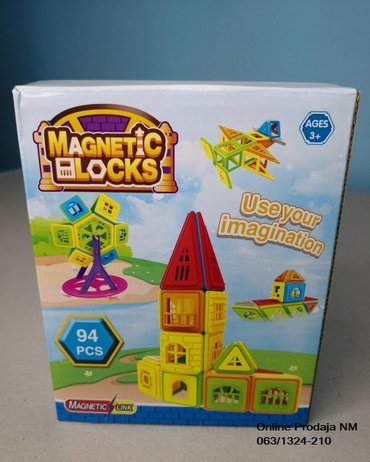 Magnetic blocks-Edukativni set - Beograd