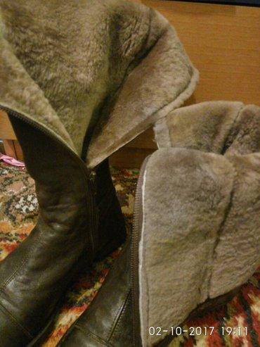 Продаю фирменные обувьи. Кожа натуральный мех. Состояние идеальное,как в Бишкек