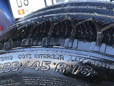 диски момо r18 в Кыргызстан: Продам шины MICHELIN 235/45 R18 2шт.  Или меняю на 265/35R18
