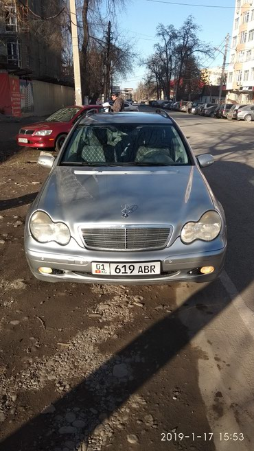 Mercedes-Benz в Кыргызстан: Mercedes-Benz C 240 2.6 л. 2003 | 300000 км