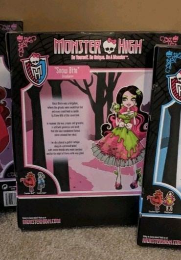 Резерв! Кукла Monster high Draculaura, Snow Bite. в Бишкек