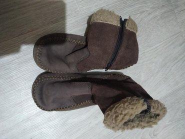 Детская обувь в Токмак: Полусапожки замшевые. 28 размер б/у. Осень-весна. Г. Токмок. Цена