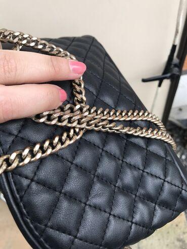 Сумка Зара Zara чёрная торг уместен