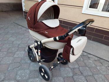 Детский мир - Джалал-Абад: Город Джалал Абад! Продаю коляску 2в 1. Лето-зима. От компании bebe-m