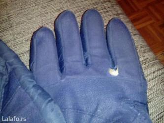 Skijaske rukavice muske za odrasle koriscene,vidite slike,pitajte sto  - Beograd