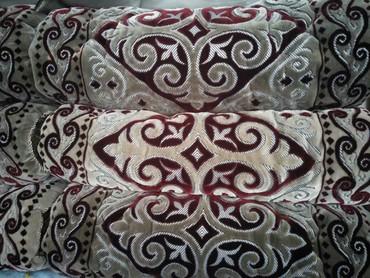 Текстиль - Кыргызстан: Готовый жер тошок из турецкой ковровой ткани, внутренняя ткань и сама