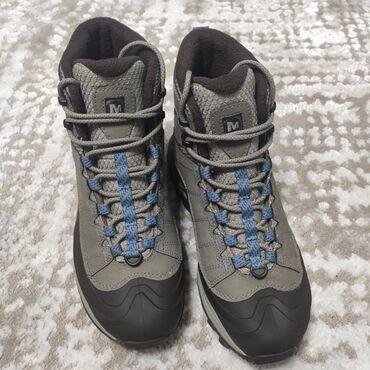 пальто женское зимнее бишкек в Кыргызстан: Продаю новые походные ботинки merrell, в наличии. Ботинки для