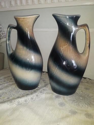 вазы в Азербайджан: Вазы,высота 31 см,произв-ва СССР,новые,пара 30манат
