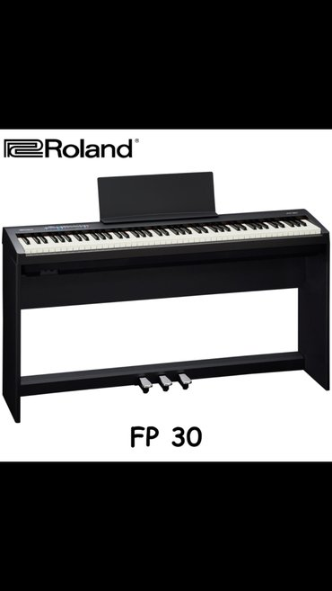 Фортепиано цифровое ROLAND FP-30 – бюджетная новинка с премиальными