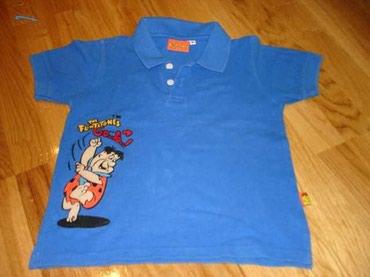 Majica na kragnu - Srbija: Cartoon network majica sa kragnicom, kremenko je na slici. Odgovara