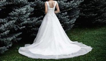 Шикарное свадебное платье напрокат в Бишкек