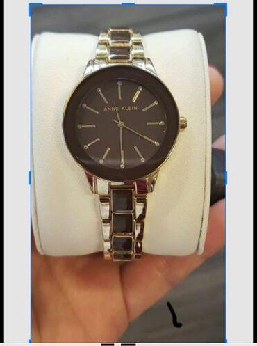 Черные Женские Наручные часы Anne Klein