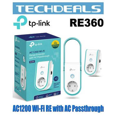 - Azərbaycan: TP link ac1200 re360 ( acses point, repeater range extender ) wifi