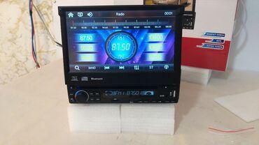 Maqnitafon monitorlu icinden cixan Bulutuzlu mp3 usb flash mikro kart