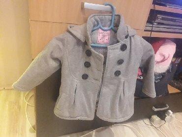 Dečije jakne i kaputi | Mladenovac: Kaputic,86/92.Sive boje.Bez ostecenja
